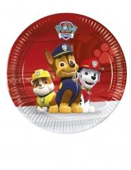 Paw Patrol™-Pappteller Tischdekoration 8 Stück bunt 20cm