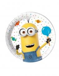 Minions™-Pappteller Kindergeburtstag 8 Stück bunt 20cm