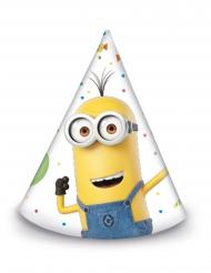 Minions™-Partyhüte für Kindergeburtstage 6 Stück bunt