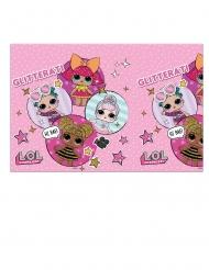 LOL Surprise™-Party-Tischdecke für Geburtstage rosafarben 120 x 180 cm