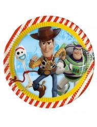 Toy Story™-Pappteller Tischzubehör 8 Stück bunt 23cm