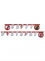 "Ladybug­™-Geburtstags-Girlande ""Happy Birthday"" Party-Deko bunt 2m"