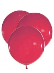 Luftballons aus Latex Raumdekoration 5 Stück rot 47 cm