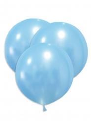 Übergroße Latexballons Partyzubehör 5 Stück hellblau 47 cm
