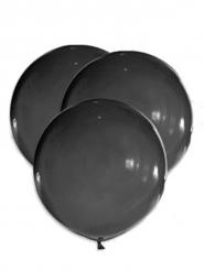 Klassische Luftballons Raumdekoration 5 Stück schwarz 47 cm