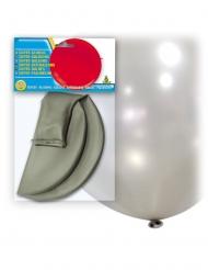 Riesen Luftballon silber 80 cm