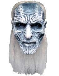 Game of Thrones™-Weißer Wanderer-Maske Kostümzubehör grau-weiss