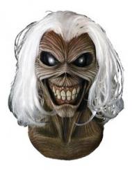 Iron Maiden™-Horrormaske Eddie für Erwachsene braun-schwarz-weiss