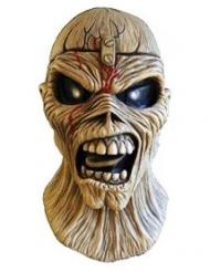 Iron Maiden™-Maske für Erwachsene Piece of Mind schwarz-beige