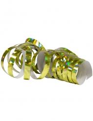 Party-Luftschlangen Schimmernd holographisch gold jeweils 4 m