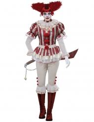 Horrorclown Kostüm für Damen Halloween