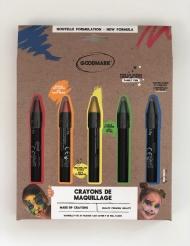 Schminkstifte-Set Regenbogen für Kinder 5 Stück bunt 2,8 g