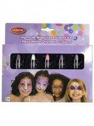 Makeup-Stifte für Kinder auf Wasserbasis pastellfarben 2,8 g