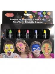 Neon Schminkstifte für Kinder 5 Stück bunt 2,8 g