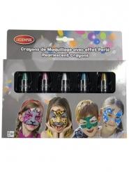 Makeup-Stifte mit Perleffekt 5 Stück bunt 2,8 g