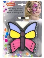 Schmetterling-Makeup-Set für Kinder 3-teilig bunt
