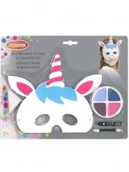 Einhorn Maske und Schminkset für Kinder