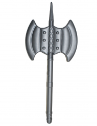 Mittelalterliche Axt Spielzeug-Waffe grau 85 cm