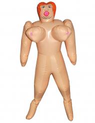 Puppe aufblasbar Spaß-Artikel für JGA`S 150 cm