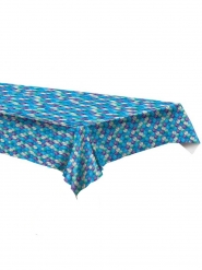 Meerjungfrauen-Tischdecke Partyzubehör bunt 137 x 274 cm