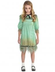 Geistermädchen Halloween-Kostüm für Mädchen grün