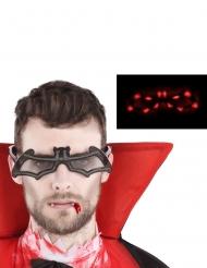 Leuchtende Fledermaus Brille für Erwachsene