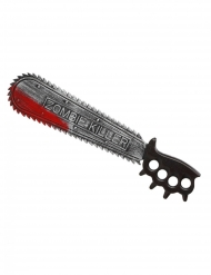 Blutige Zombie-Säge Halloween Spielzeug-Waffe grau-rot