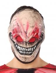 Fiese Horrormaske für Erwachsene Halloween-Zubehör hautfarben