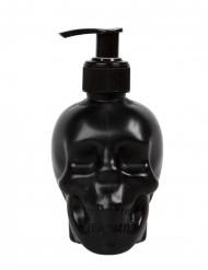 Seifenspender mit Totenkopf Zubehör für Halloween schwarz