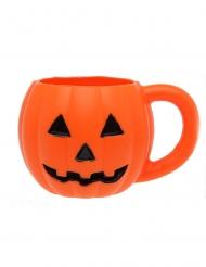 Kürbis-Tasse Tischzubehör für Halloween-Partys orange 660 ml