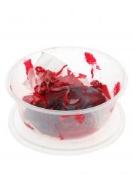 Blutige Organe in Schüssel Halloween-Dekoration rot 16 x 7 cm
