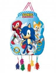 Kleine Sonic™ Pinata blau 39 x 43 cm