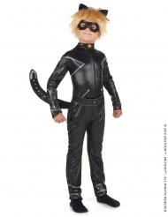 Cat Noir™-Kinderkostüm für Jungen Miraculous™-Verkleidung schwarz