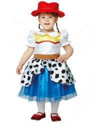Toy Story™-Jessie Kostüm für Kleinkinder blau-weiss-rot