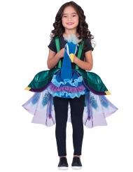 Hübscher Pfau-Kinderkostüm für Mädchen Tier-Verkleidung bunt