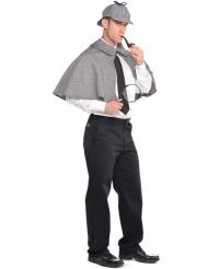 Detektiv-Set für Herren grau