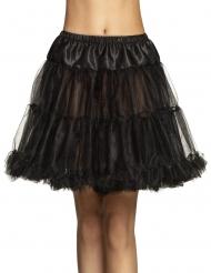 Petticoat Kostümzubehör Unterrock für Damen schwarz