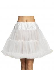 Petticoat Kostümzubehör Unterrock für Damen weiß