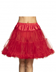 Petticoat Kostüm-Accessoire Unterrock für Damen rot