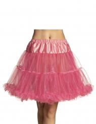 Petticoat für Damen Unterrock Kostümzubehör rosa