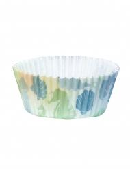Meerjungfrauen-Muffinformen Backzubehör 50 Stück bunt 6,5 cm