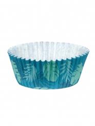 Cupcake-Formen Backzubehör Muffin-Förmchen 50 Stück blau-grün 6,5 cm