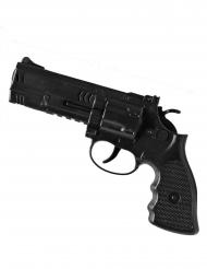 Spielzeug Pistole Polizei schwarz 21 cm