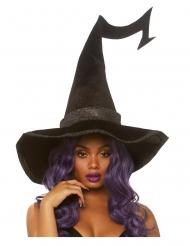Übergroßer Hexenhut für Damen Kostüm-Accessoire schwarz