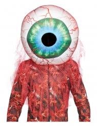 Schaumstoff-Maske blutiges Auge Halloween-Zubehör bunt