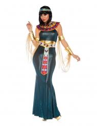 Ägyptische-Pharaonin Damenkostüm für Karneval bunt
