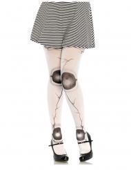 Gothic-Puppen Strumpfhose mit Gelenken für Damen