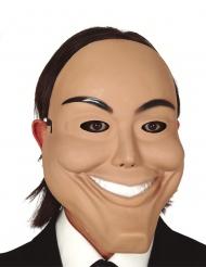 Psychopathen-Maske aus PVC für Erwachsene