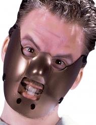 Kannibalische-Maske für Halloween Zubehör für Erwachsene braun