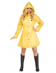 Regenmantel-Kostüm-Zubehör für Damen Gelb